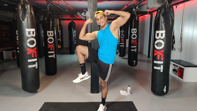 Wed 22/9 6pm  IST | Arms & Abs with Manik |