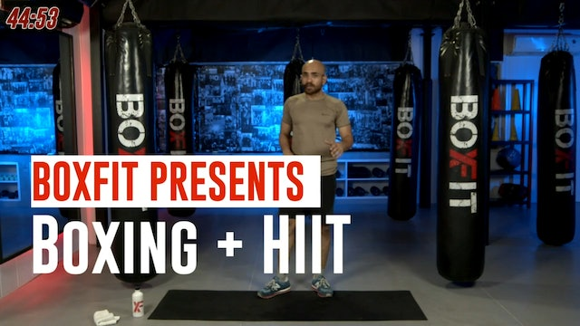 Tue 14/9 6pm  IST | Boxing + HIIT with Ajay |