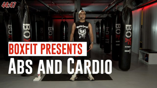 Tue 22/6 6pm  IST | Abs and Cardio wi...