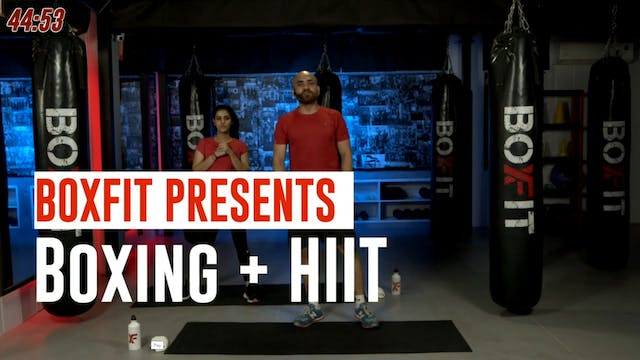 Tue 05/10 6pm  IST | Boxing + HIIT wi...