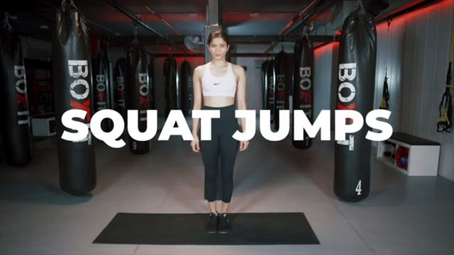How to do Squat Jumps