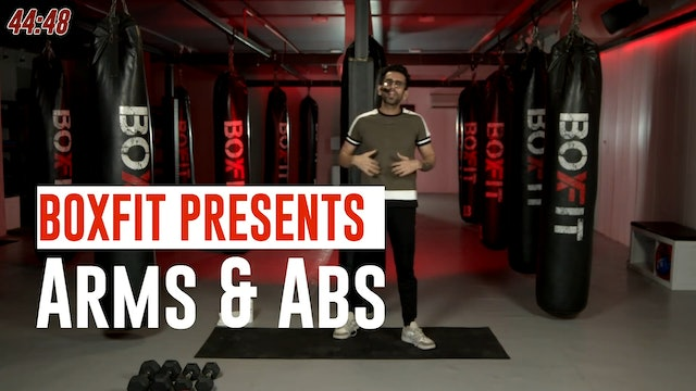 Wed 07/7 8am IST | Arms & Abs with Rajat |