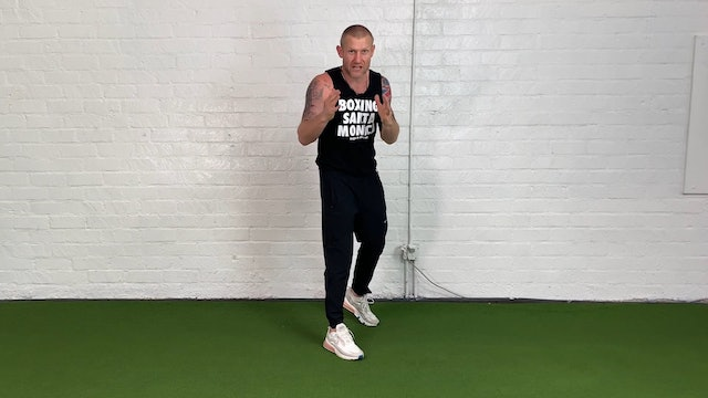 Boxing Technique for Left-handed person