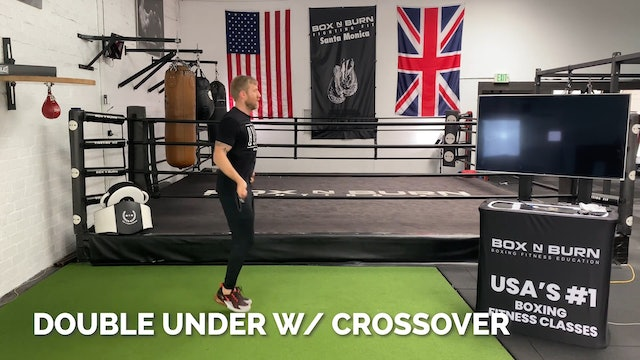 How To Jump Rope - Double Under with Crossover | Tony