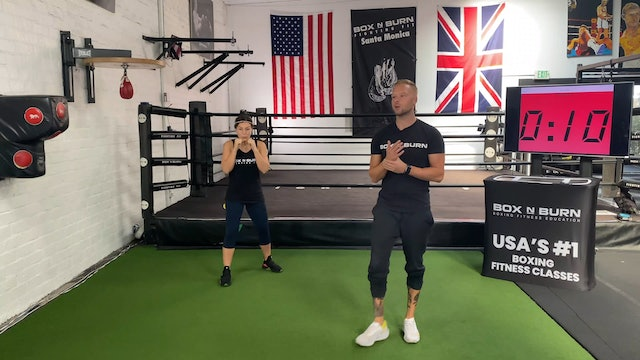 Boxing Workout With Glen