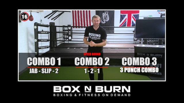Heavy Bags With Tony Jeffries x6 3 minute rounds