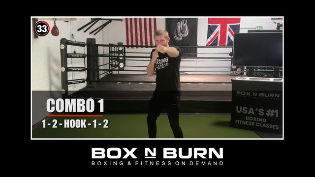 Heavy Bag Workout with Tony Jeffries x3 3 minute rounds