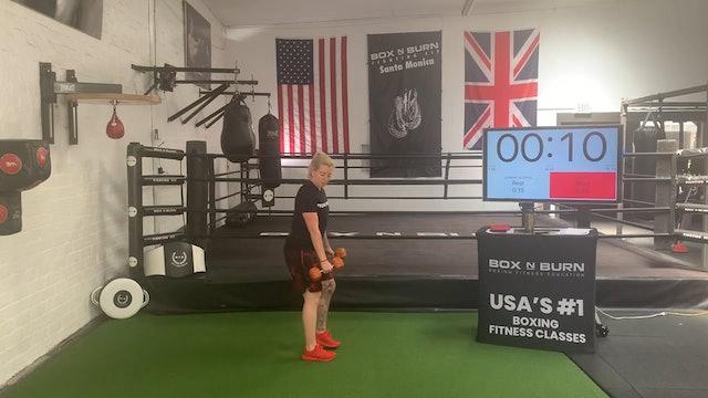Dumbbell Workout | Kerrie: Intermediate #1