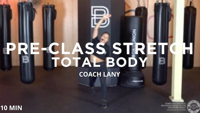Pre-Class Stretch: Total Body