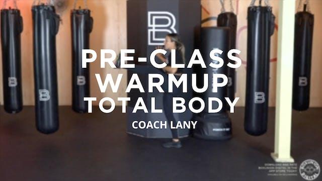 Pre-Class Warmup: Total Body