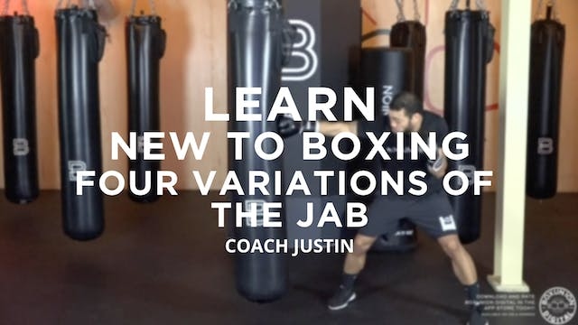 Learn - New To Boxing: Four Variation...