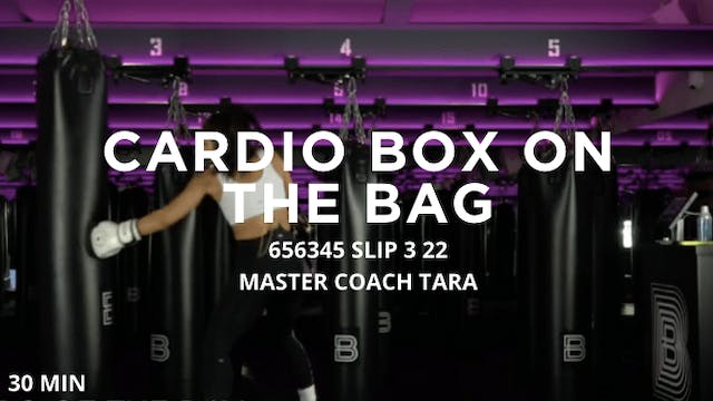 30min Cardio Box on the Bag