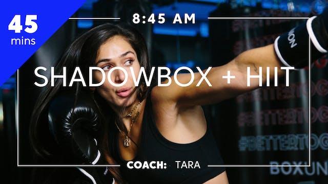 Shadowbox + HIIT with Coach Tara