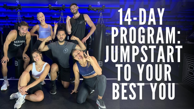 Jumpstart To Your Best YOU: Welcome!