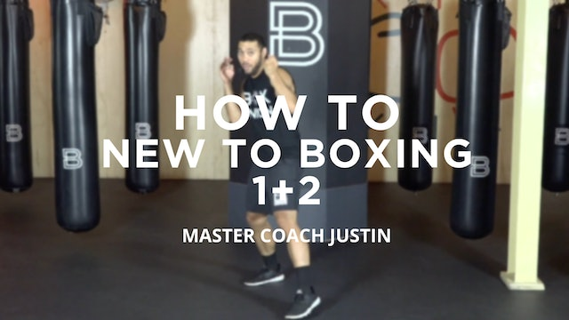 How To - New To Boxing: 1 + 2