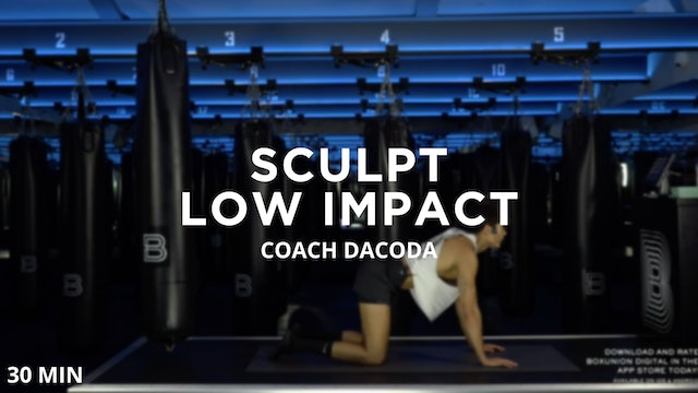 Sculpt - Low Impact - 8/12/2020