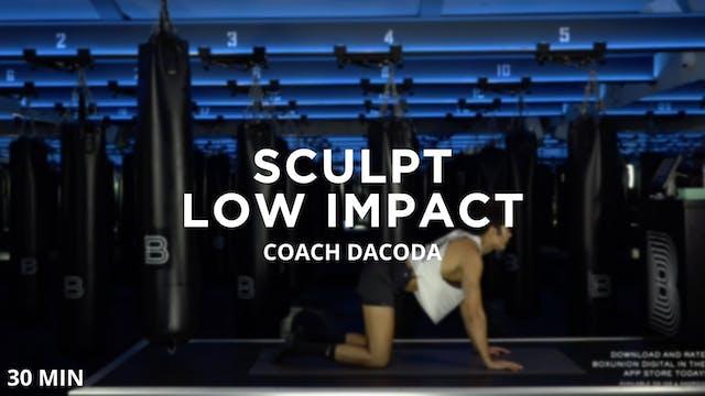 Sculpt - Low Impact - 8/12/2020
