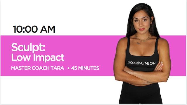 Sculpt - Low Impact Class with Coach Tara