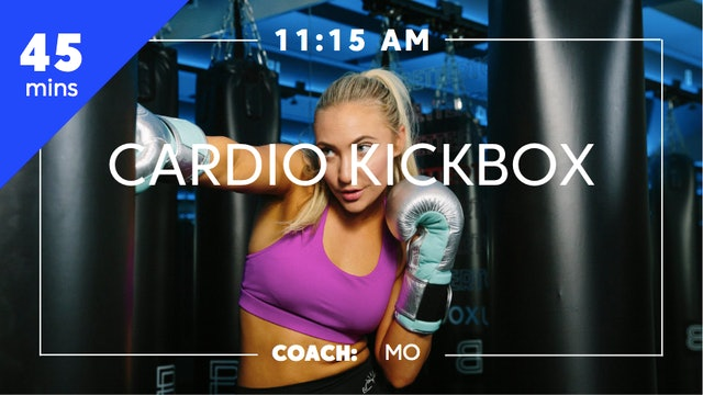 Cardio Kickbox with Coach Mo