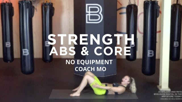 Strength - Abs & Core: No Equipment