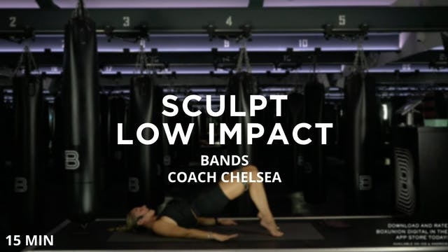 Low Impact Sculpt - Bands - 8/12/2020