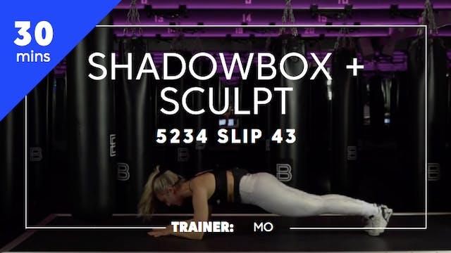 30min Shadowbox + Sculpt