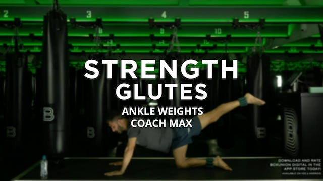 Strength - Glutes: Ankle Weights