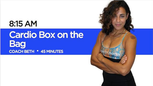 Cardio Box on the Bag with Coach Beth