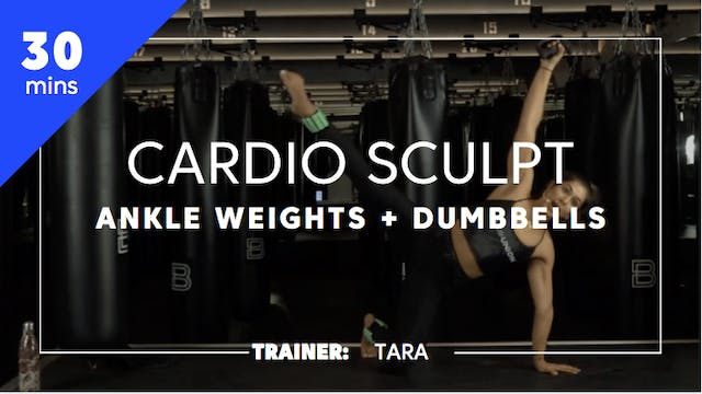 30min Cardio Sculpt w/ Ankle Weights ...