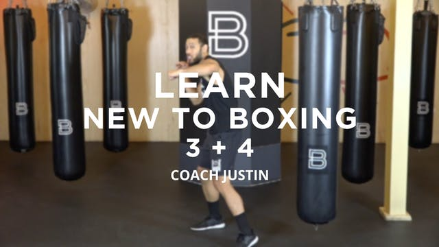 Learn - New To Boxing: 3 + 4