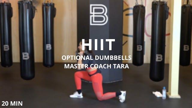 Lower Body HIIT & Dumbbells - 4/14/2020