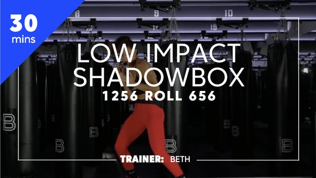 30min Low Impact Shadowbox