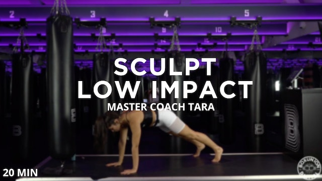 Abs Focused Low Impact Sculpt - 11/11/2020