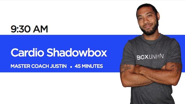 Cardio Shadowbox with Coach Justin