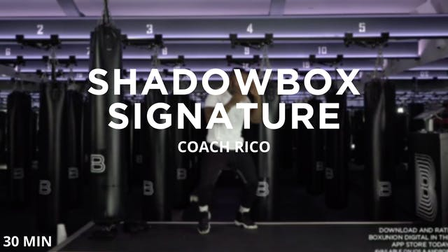 Shadowbox Signature - 9/16/2020