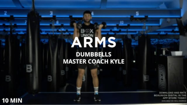 10min Arms w/ Dumbbells