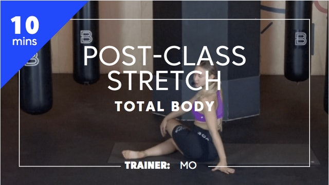 10min Post-Class Stretch - Total Body