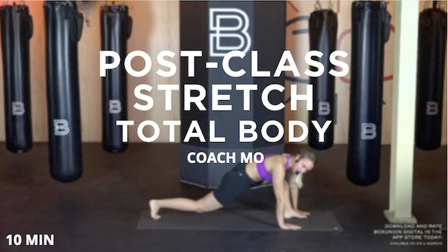 Post-Class Stretch - Total Body