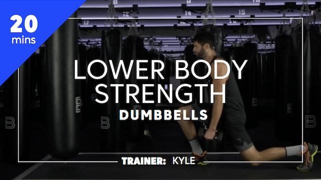 20min Lower Body Strength