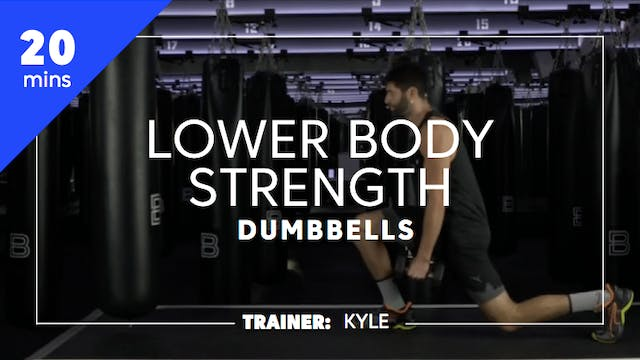 20min Lower Body Strength