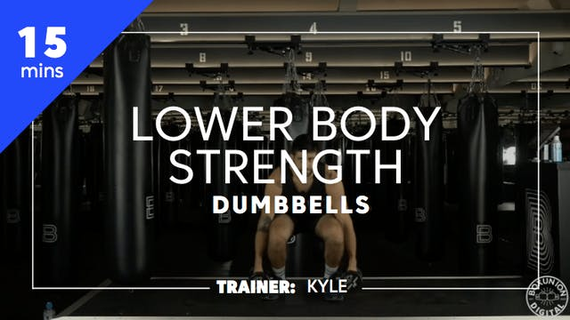 15min Lower Body Strength
