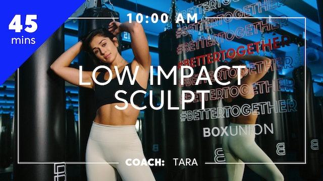 Encore Low Impact Sculpt with Coach Tara