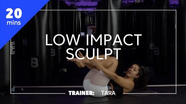 20min Abs Focused Low Impact Sculpt
