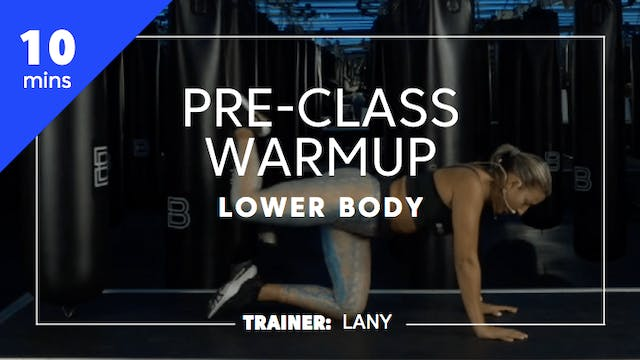 10min Pre-Class Warmup - Lower Body
