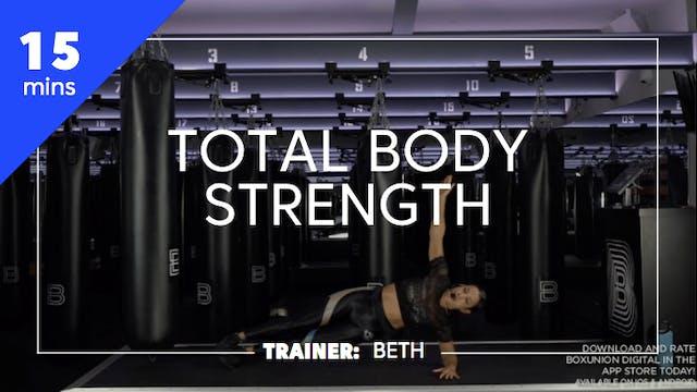 15min Total Body Strength - Bodyweight