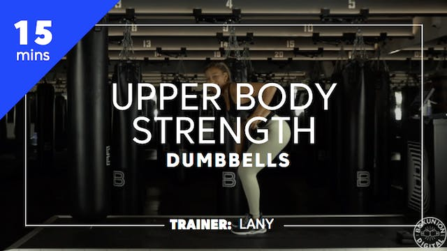 15min Upper Body Strength