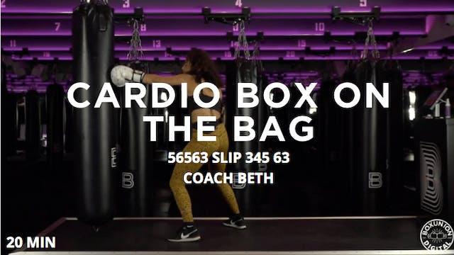 20min Cardio Box on the Bag