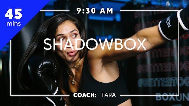 Shadowbox with Coach Tara