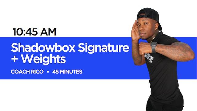 Shadowbox Signature + Weights Class w...