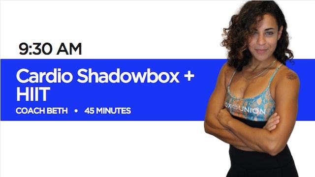 Shadowbox + HIIT with Coach Beth